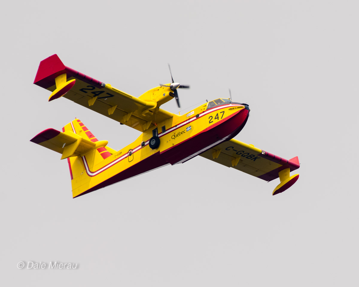 A Quebec water bomber by Dale Mierau ©