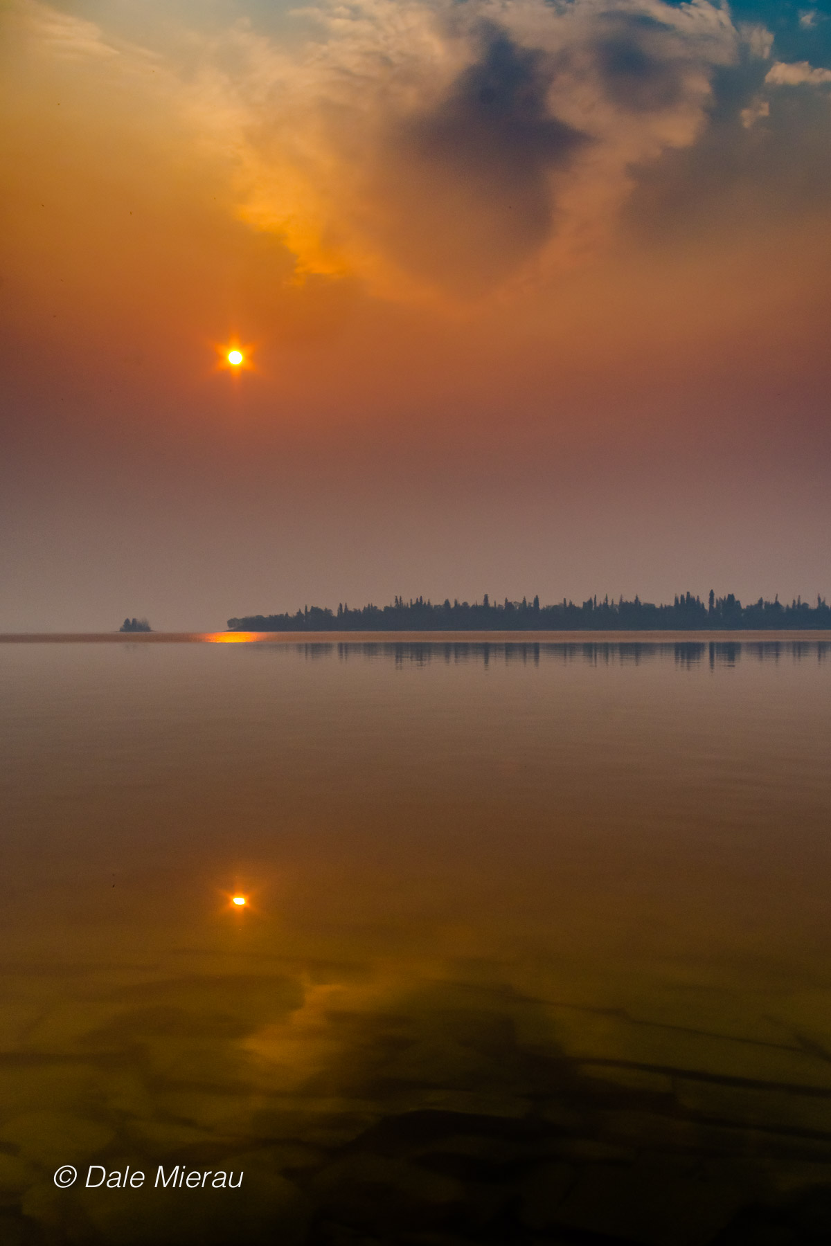 Eerie scene over lake by Dale Mierau ©