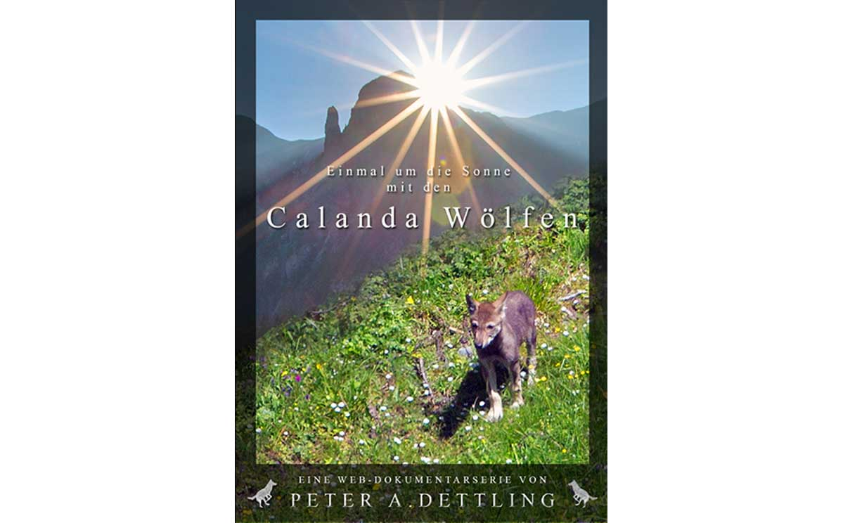 Calanda Wolfen book by Peter A. Dettling ©