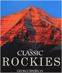 Classic Rockies book cover by George Brybycin