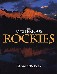 The Mysterious Rockies book cover by George Brybycin