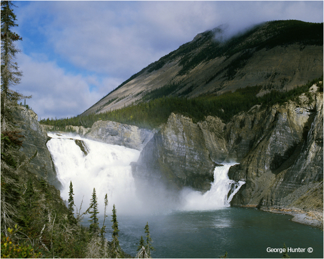 Virginia Falls, Nahanni River, Northwest Territories by George Hunter ©