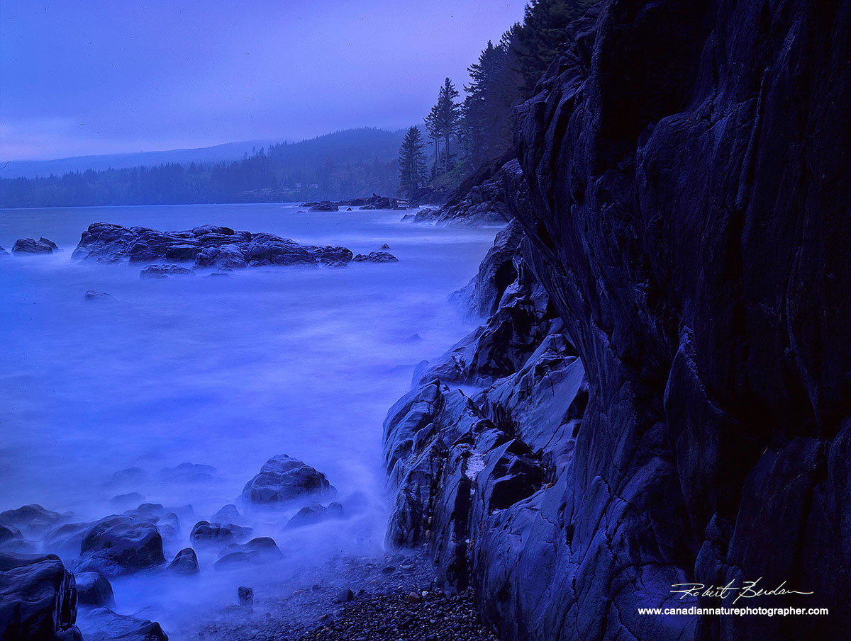 Point no Point, Vancouver Island by Robert Berdan ©