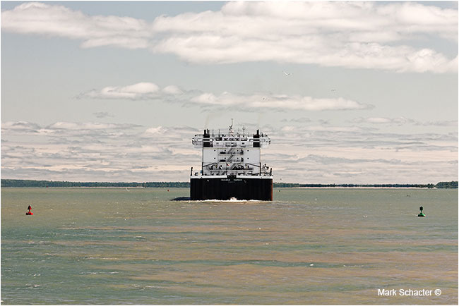 MV Indiana Harbor (Near Sault Ste. Maria, Michigan) by Marck Schacter ©