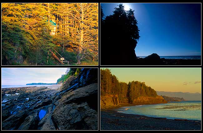 Pictures from teh Nootka Trail by Robert Berdan ©
