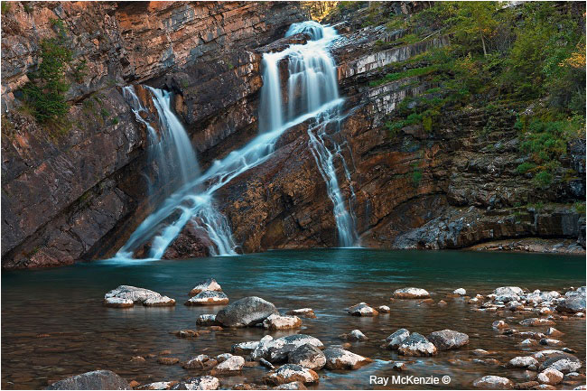 Cameron Falls by Ray Mckenzie ©