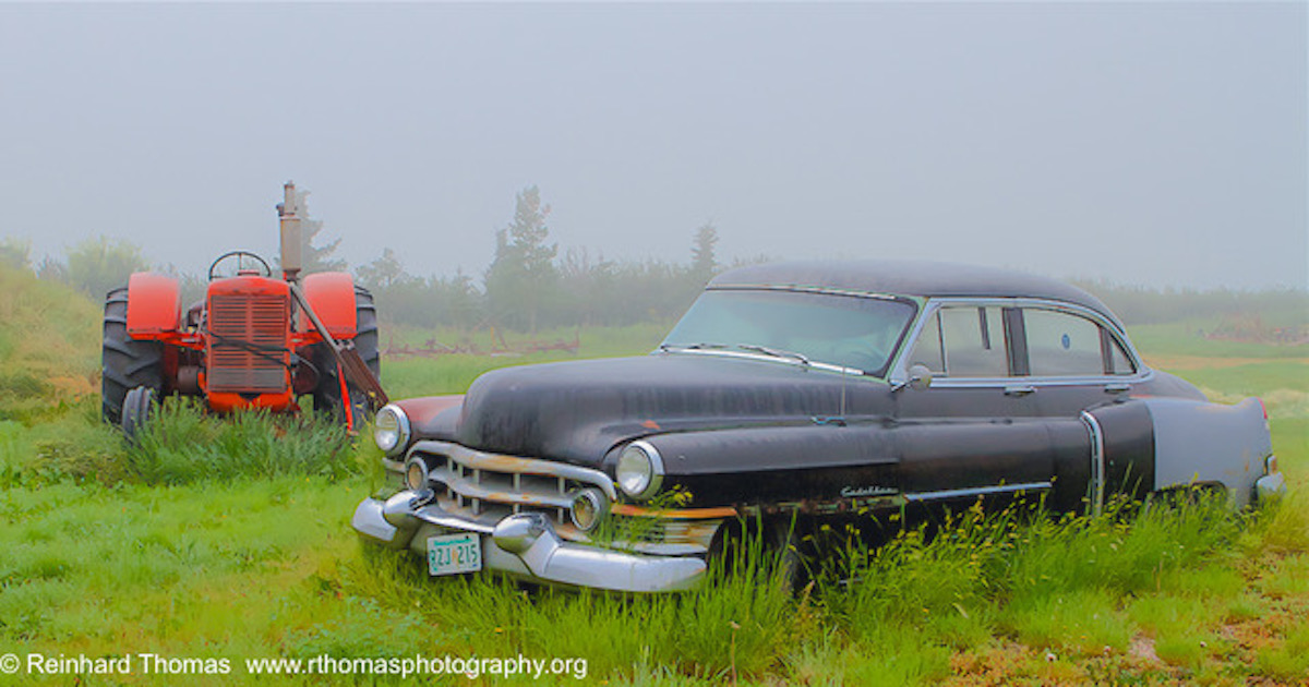 Rusting in the mist by Reinhard Thomas ©