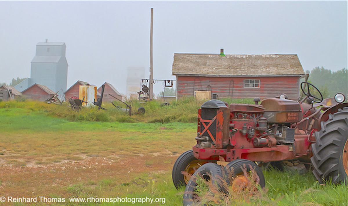 Deserted Farm equipment by Reinhard Thomas ©