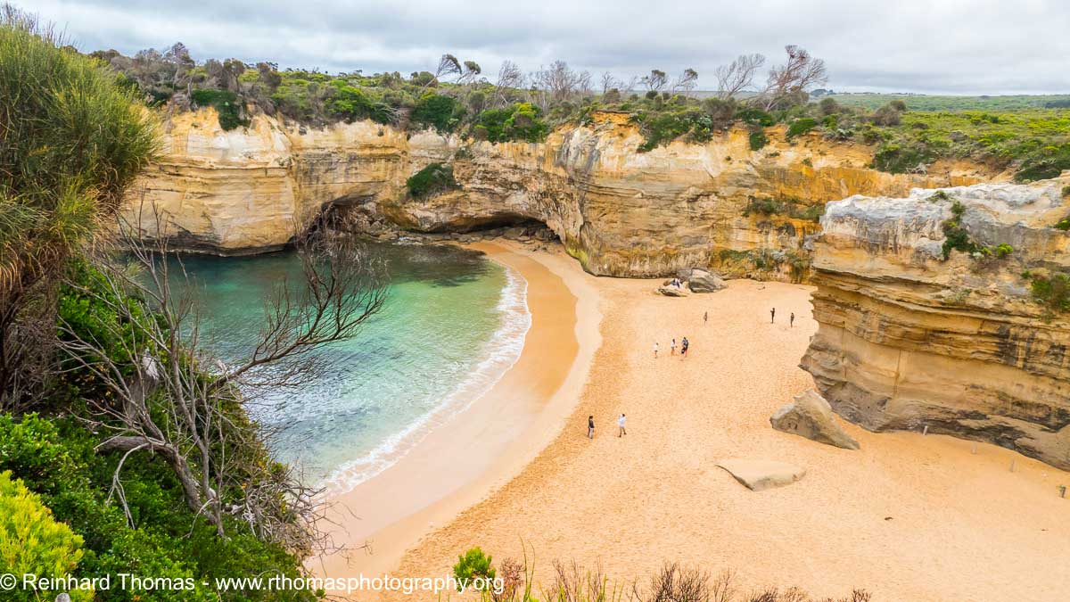 Small secluded beach near Port Campbell Australia by Reinhard Thomas ©