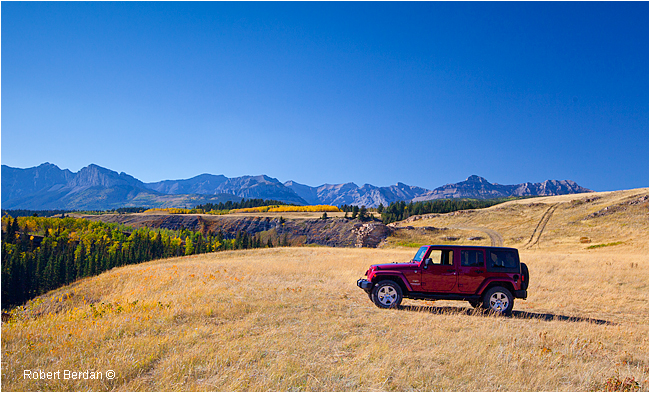 JEEP in Stoney River Park by Robert Berdan ©