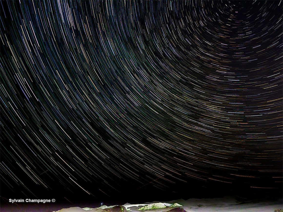 Star trails in Southampton by Sylvain Champagne ©