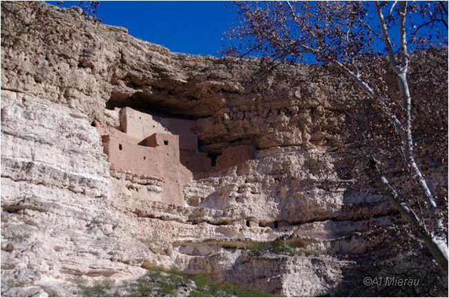 Cliff dwellings - The Montezuma Castle by Al Mierau ©