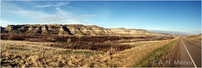 Panorama of the Badlands by Al Mierau ©