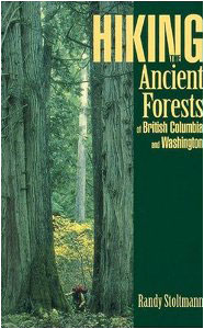 HIking ancient rainforest book cover by Randy Stoltman