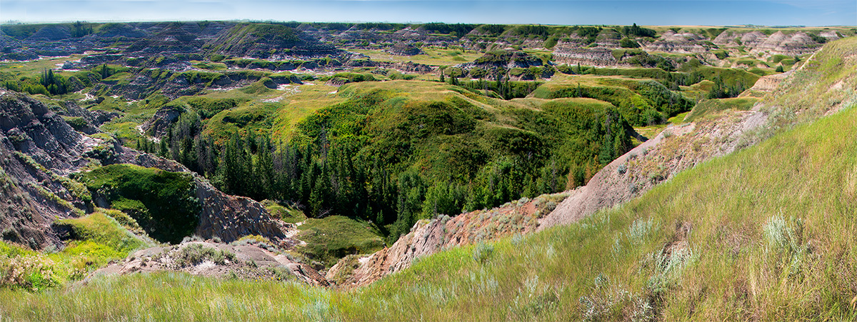 Panorama of Horseshoe canyon by Robert Berdan ©