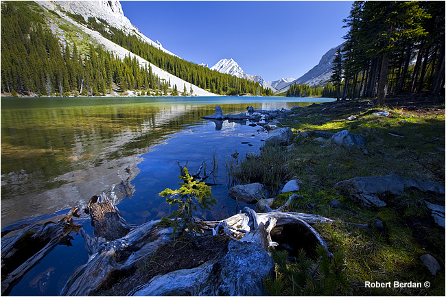 Elbow lake Kananaskis by Robert Berdan ©