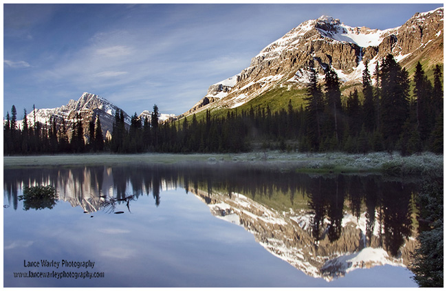 Mtn Reflections by Lance Warley ©