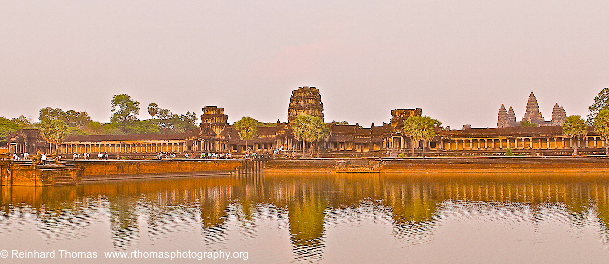 View onto Angkor Wat Cambodia by Reinhard Thomas ©