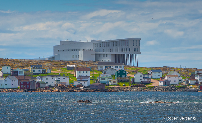 Fogo Island Inn near Joe Batt's arm Fogo Island by Robert Berdan ©