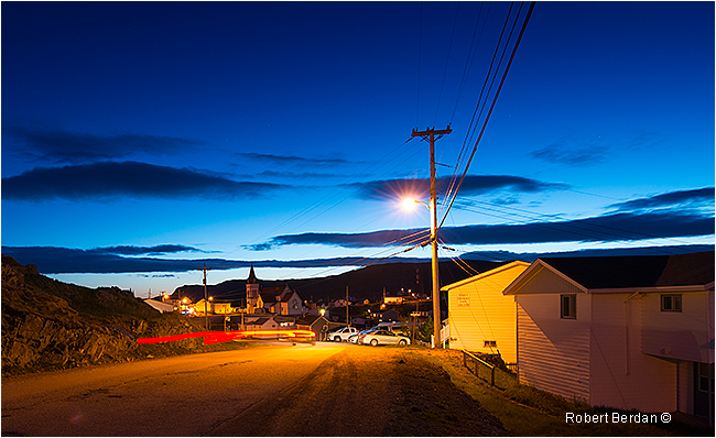 Fogo at night by Robert Berdan ©