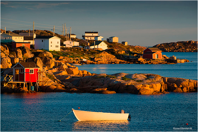 Deep Bay Fogo island by Robert Berdan ©