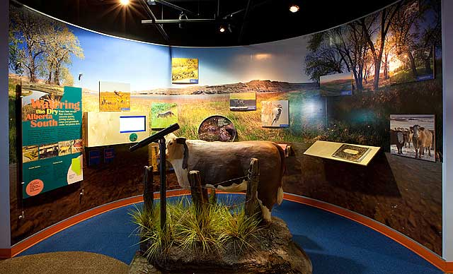 Oldman river exhibit