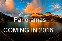 Panorama Photography Gallery coming in 2016
