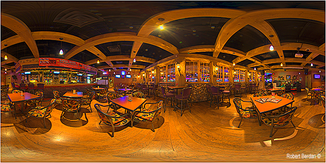 HDR panorama of the Deerfoot Inn & Casino by Robert Berdan ©