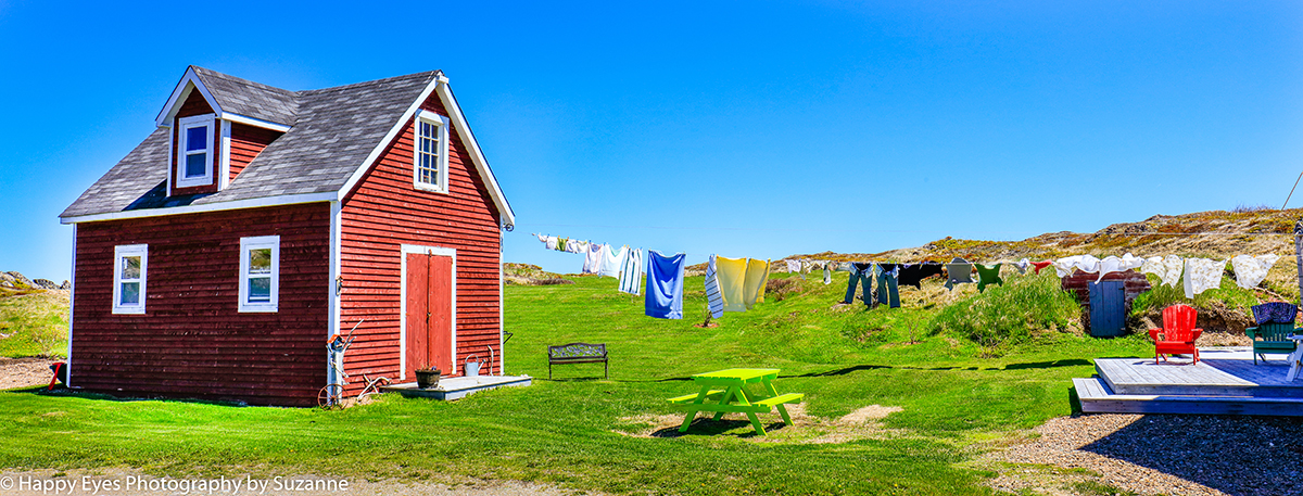 clothes line Newfoundland Suzanne Roberts ©