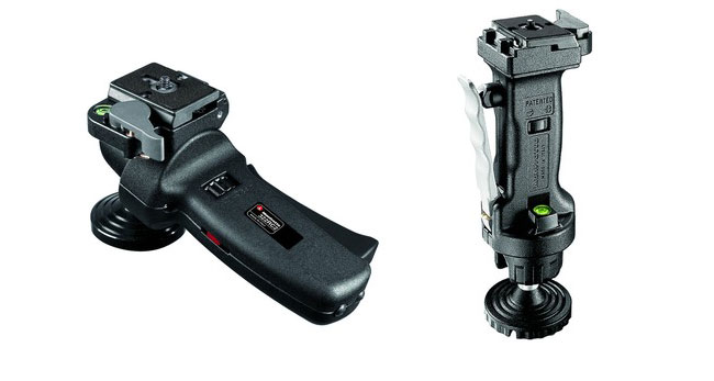 Joystick and GripBall heads from Manfrotto