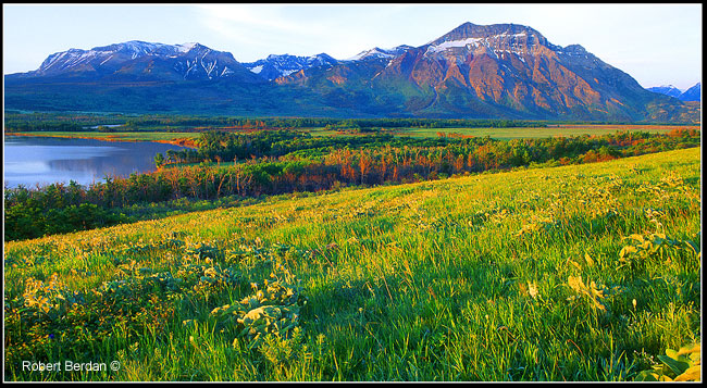 Vimy peak Waterton National Park by Robert Berdan ©