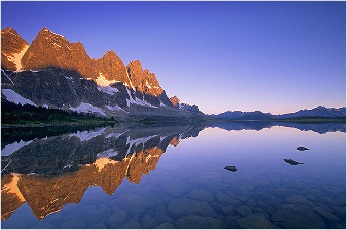 Tonquin Valley Sunrise by Peter A. Dettling ©